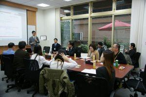 PIIPのCEO李彥慶は日本台湾交流協会に誘われて, 台湾駐在の日本企業に知的財産権の経験をシェアした。